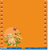Disney The Lion King Collection Lion King Foiled 12 x 12 Scrapbook Paper by Sandylion