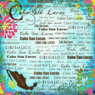 Paradise Collection Cabo San Lucas 12 x 12 Scrapbook Paper by Scrapbook Customs