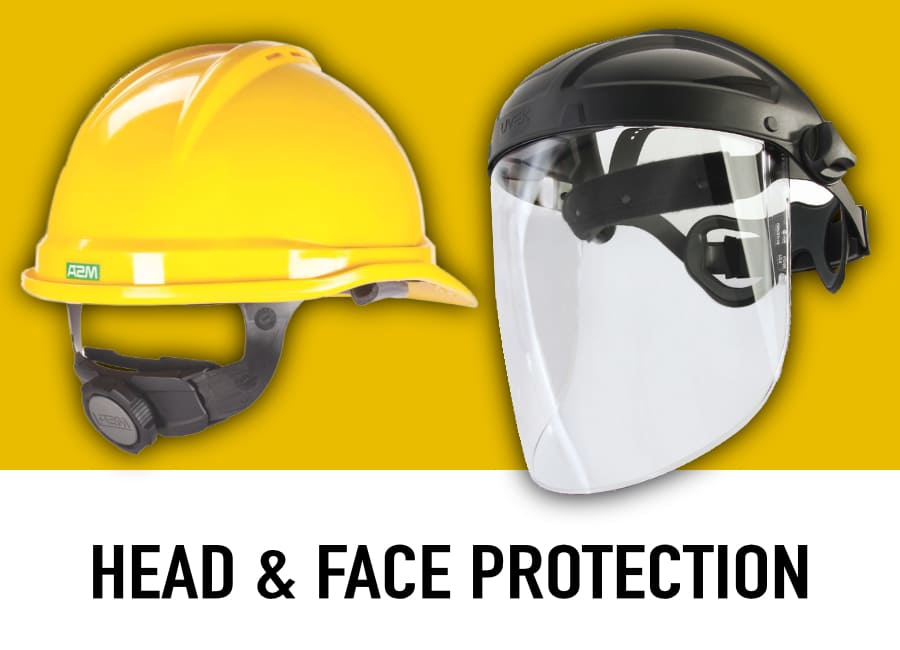 shop head and face protection
