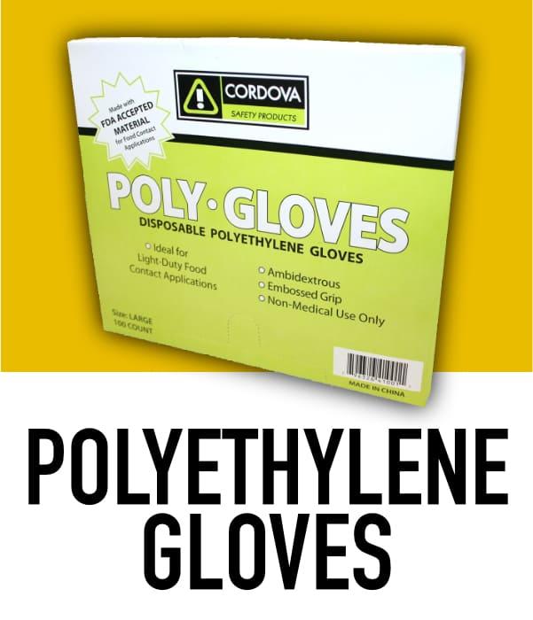Polyethylene Disposable Gloves