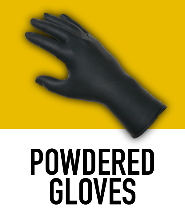 Powdered Disposable Gloves