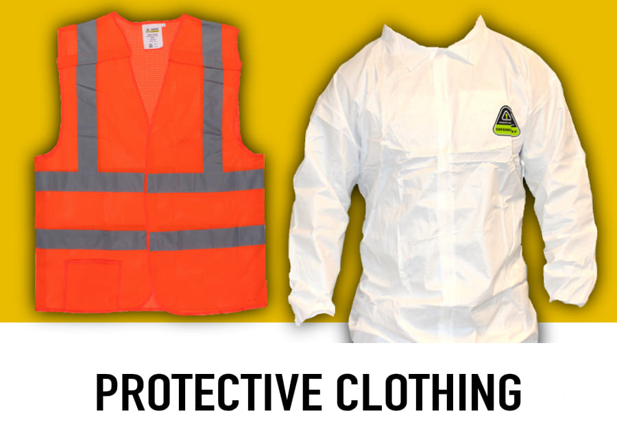 shop protective clothing