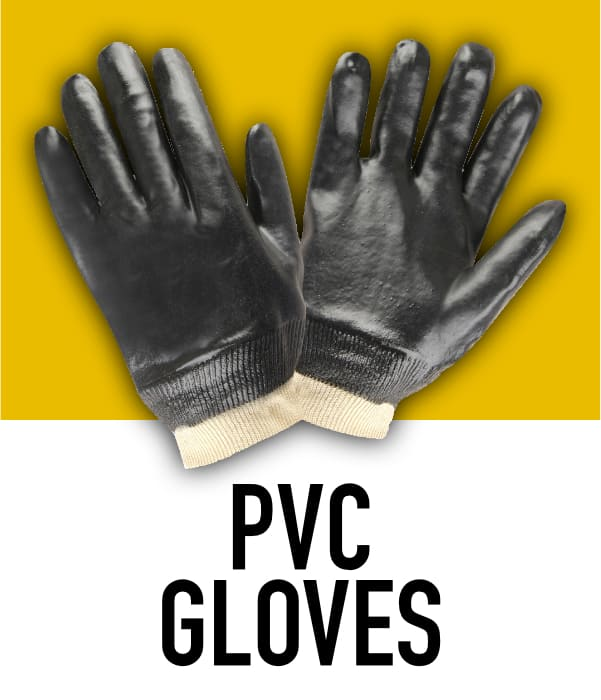 PVC Rubber Gloves