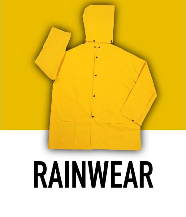 Rainwear & Wet Weather Clothing