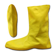 Cordova .75 MM Natural Rubber Hazmat Boots, Ribbed/Textured Sole, Unlined, 12-Inch Length (Pair)