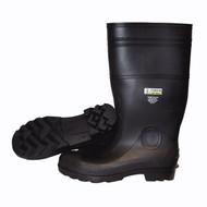 Cordova Black Steel Toe Boots, Eva Insole, Cotton Lined, 16-Inch Length (Pair)