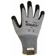 Cordova Monarch™ HCT GRAY TAEKI5® Gloves, 13-Gauge, Nitrile Coating, Heat Level 1, Cut Level 5 (Pair)