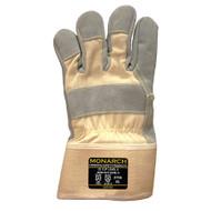 Cordova Monarch™ TAEKI5® Gloves, 10-Gauge, Leather Palm, Safety Cuff, Cut Level 5 (Pair)