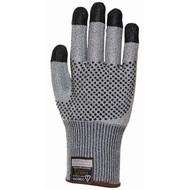Cordova Monarch DOTS™ Gray TAEKI5® Gloves, Nitrile Dotted, 13-Gauge, Cut Level 3 (Pair)