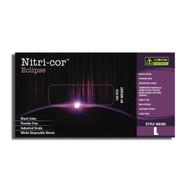 Cordova NITRI-COR ECLIPSE™ Industrial Grade Nitrile Gloves, 4-MIL, Powder Free, Textured, Black (Case of 1,000)