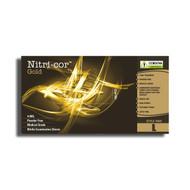 Cordova NITRI-COR GOLD™ Exame Grade Nitrile Gloves, 4-MIL, Powder Free, Textured (Case of 1,000)