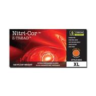 Cordova NITRI-COR Z-TREAD™ Industrial Grade Nitrile Gloves, 6-MIL, Powder Free, Z-Tread Grip, Orange (Case of 1,000)