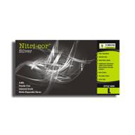 Cordova NITRI-COR SILVER™ Industrial Grade Nitrile Gloves, 4-MIL, Powder Free, Textured (Case of 1,000)