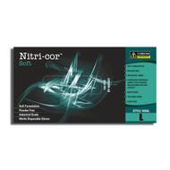 Cordova NITRI-COR SOFT™ Industrial Grade Nitrile Gloves, 3-MIL, Powder Free (Case of 1,000)