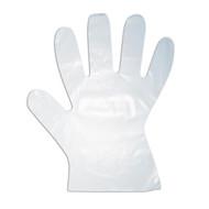 High Density Polyethylene Gloves, 1-MIL, Embossed Grip