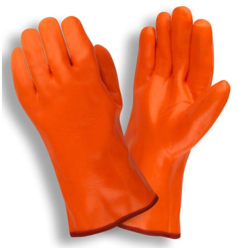 Hi Vis Orange Pvc Coated Gloves Cordova Ppe Pros