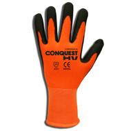 Cordova CONQUEST HV™ Nitrile Coated Machine Knit Gloves, Palm Coating (Dozen)
