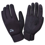 PIT PRO™ Leather Mechanics Gloves, Black