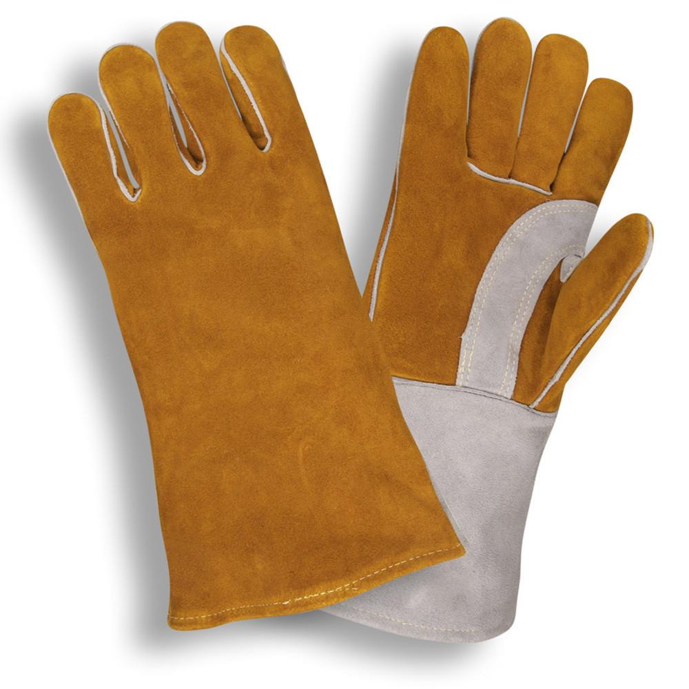 Premium Kevlar Leather Welding Gloves Cordova Ppe Pros