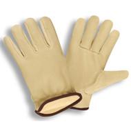 Cordova Premium Pigskin Leather Drivers Gloves, Thinsulate® Lined, Elastic Back, Keystone Thumb (Dozen)