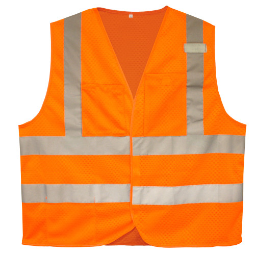 Cordova Class II FR Mesh Safety Vest, 2-Inch Reflective Tape
