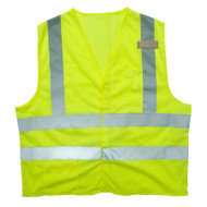 Class II FR Mesh Safety Vest, Lime