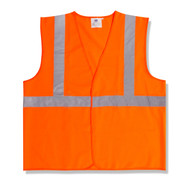 Class II Fabric Vest, Orange