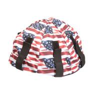 Lester Lid Hard Hat Liner, American Flag Design (Case of 12)