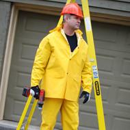 Cordova STORMFRONT FR 3 Piece Rain Suit, .35mm Fabric, Yellow