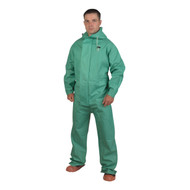 Cordova APEX FR 1-Piece Chemical Suit, .45mm Fabric, Green