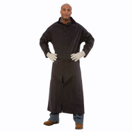 "Cordova RENEGADE 2-Piece Vented Rain Coat, .35mm Fabric, 49"" Length, Black"