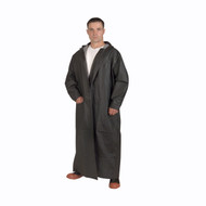"Cordova RENEGADE 2-Piece Vented Rain Coat, .35mm Fabric, 60"" Length, Black"
