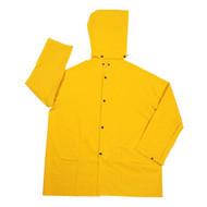Cordova STORMFRONT 1-Piece Rain Jacket, .35mm Fabric, Yellow