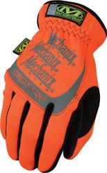 Mechanix Wear Safety FastFit HI-Viz Gloves, Orange