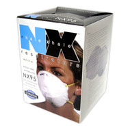 N95 Dust Mask Particulate Respirator (Case of 240)