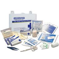 25 Person Premium Metal First Aid Kit - 25 ANSI