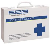 100 Person Premium Metal First Aid Kit - 100 ANSI