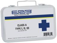 Class A  Type I, II, III Metal First Aid Kit