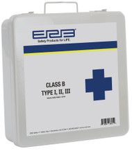 Class B  Type I, II, III Metal First Aid Kit