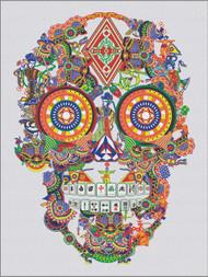Gambling skull Tufted Rug