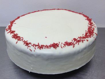 White Chocolate and Raspberry Mudcake