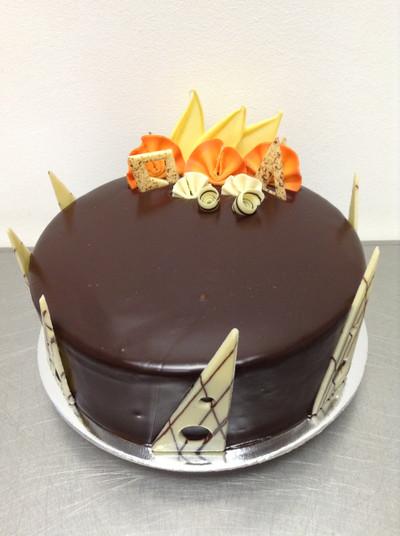 Elegant Jaffa Mud Cake The Chocolate Cake Company