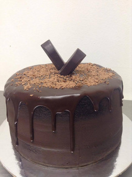 Naked Classic Chocolate Mud Cake