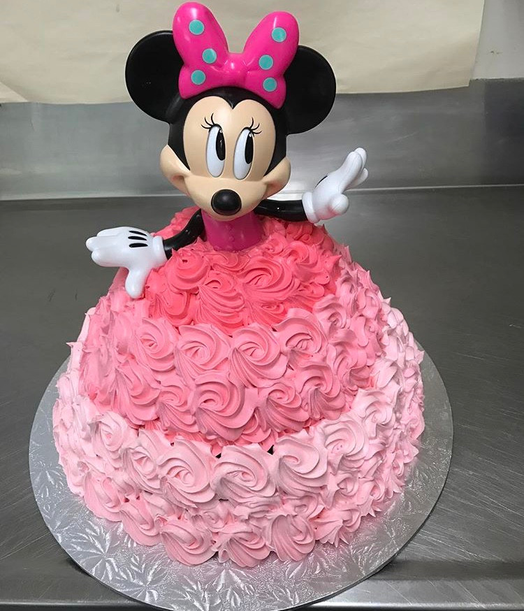 Minnie Mouse Doll The Chocolate Cake Company