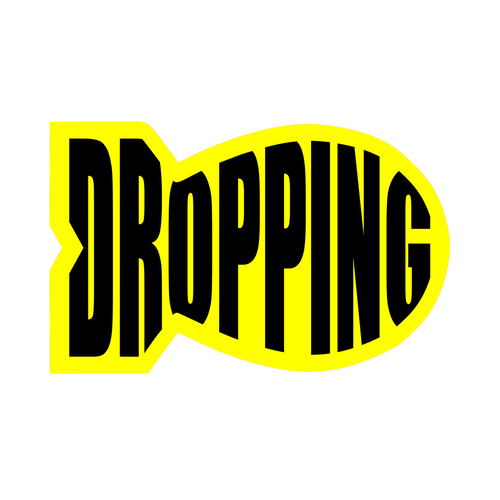 Drop Bombs Knob Sticker