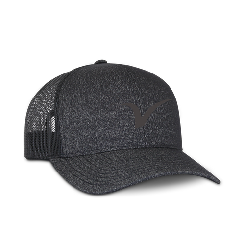 V Logo Midnight Snapback Hat