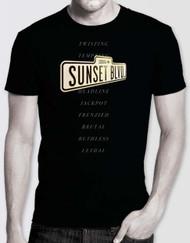 Sunset Boulevard Unisex Logo T-Shirt
