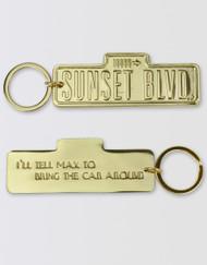 Sunset Boulevard Keychain