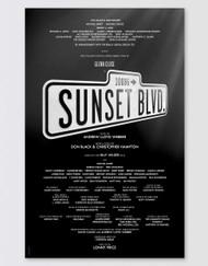 Sunset Boulevard Poster - Broadway
