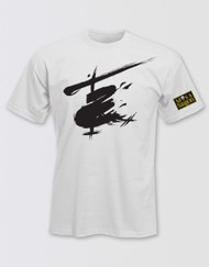 Miss Saigon Unisex White Logo T-Shirt